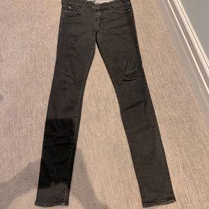 Washed black/grey Seven jegging
